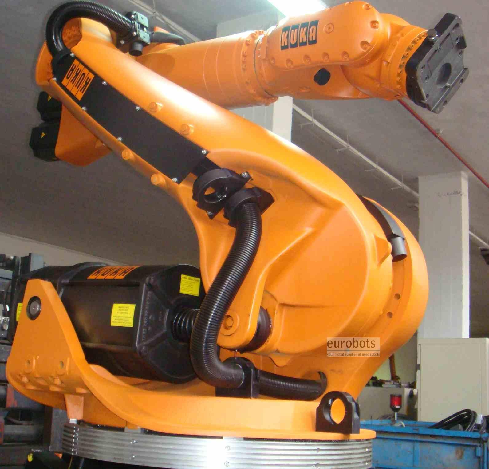KUKA- robots KR210 VKRC2 control