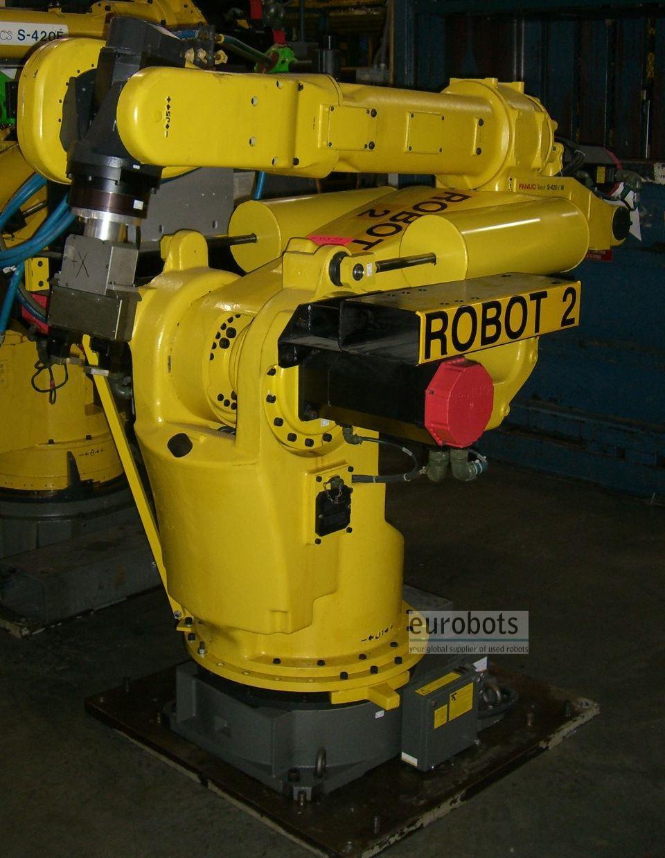 Fanuc- robots S-420iW S420iW