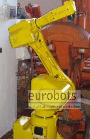 Fanuc- robots Arcmate 120i Rj2