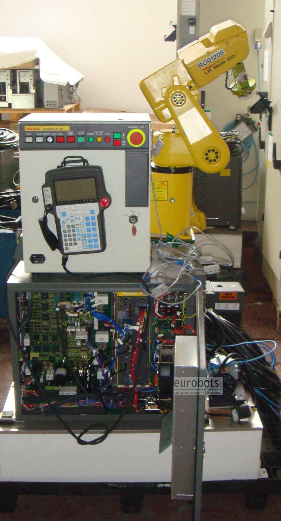 Fanuc- robots LR Mate 200i LRMate