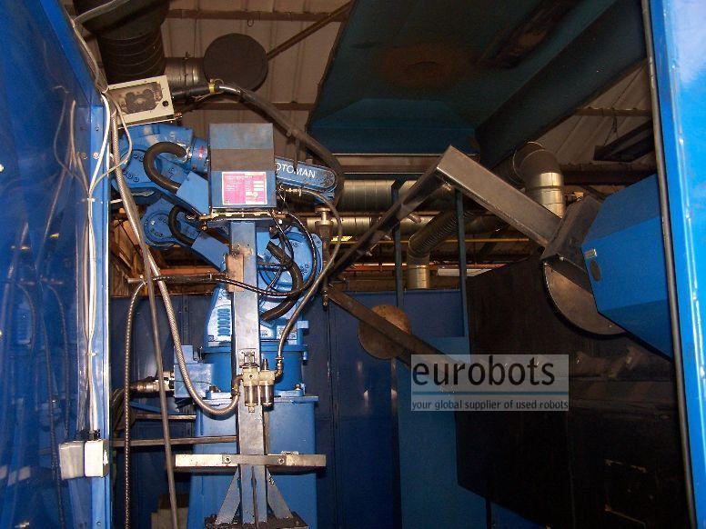 Motoman- robots Motoman Twin robotic arc welding cell Arcsystem 6000 - 2 robots